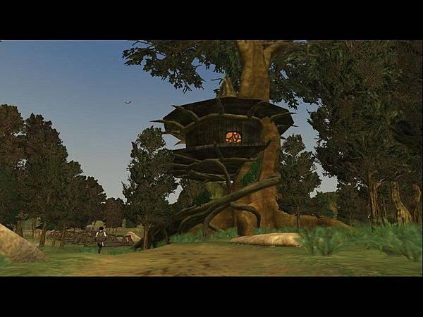 新手島的樹屋