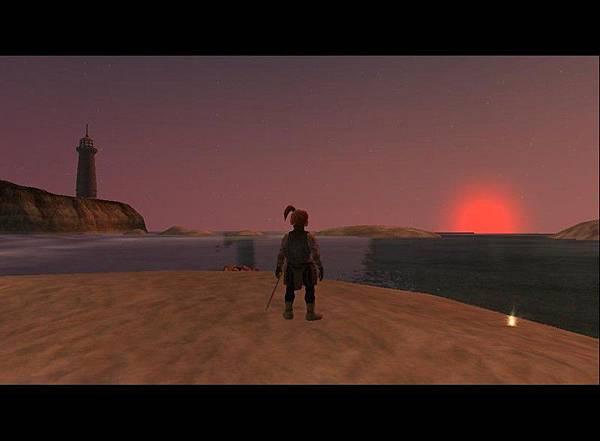 新手島的黃昏