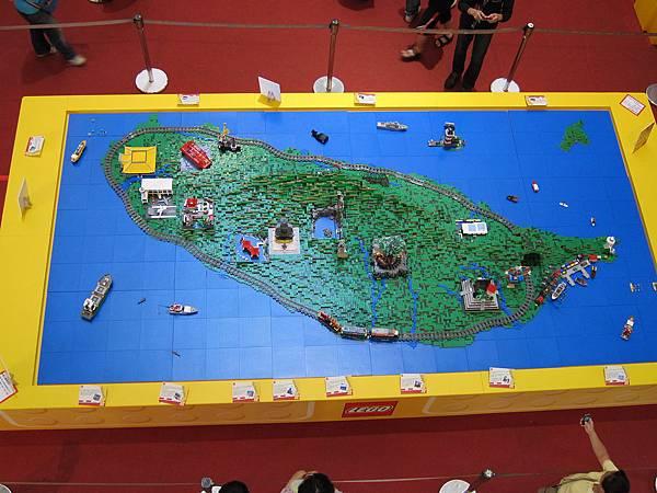 從空中看台灣