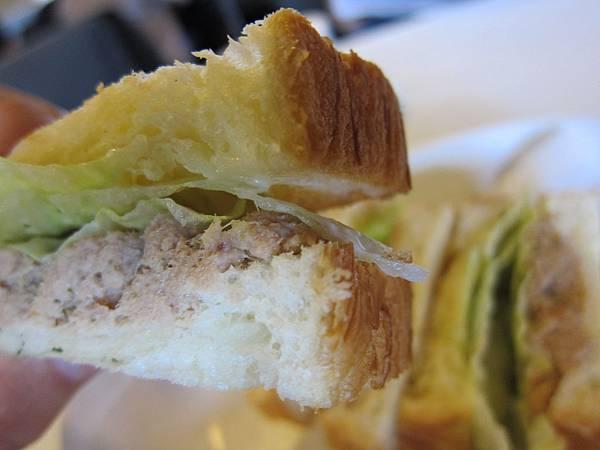 老船長鮪魚三明治丹麥口味套餐