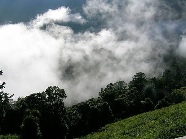 梨山的山巒
