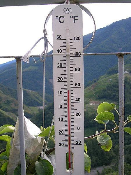 梨山的溫度