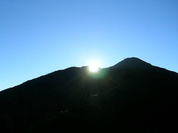 梨山的太陽