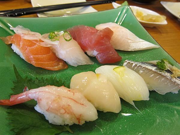 全生魚握壽司