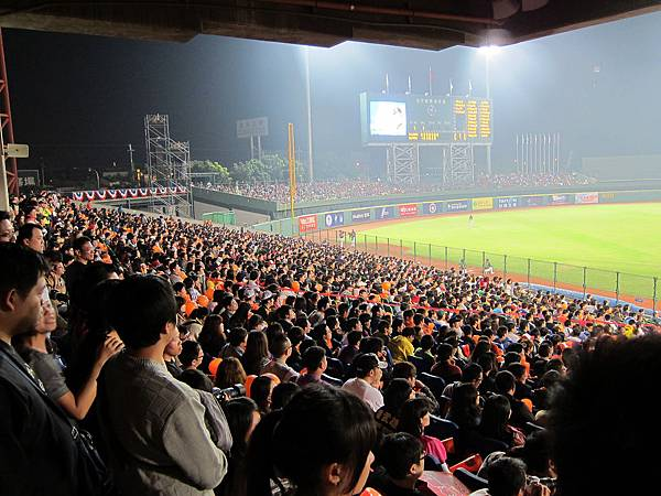 洲際棒球場,亞洲職棒大賽