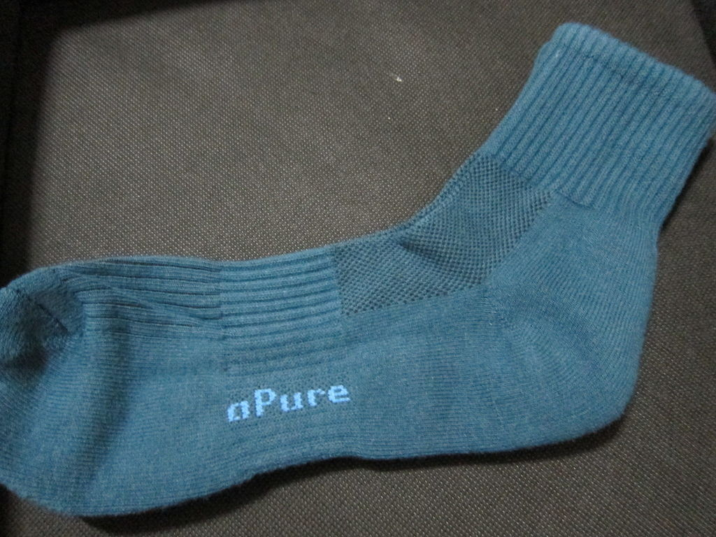 開箱 apure 健康襪