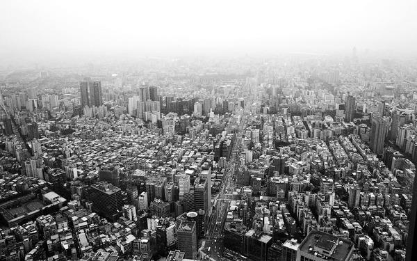 黑白的台北市