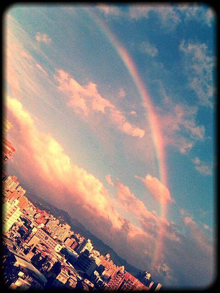 台北喜多的彩虹