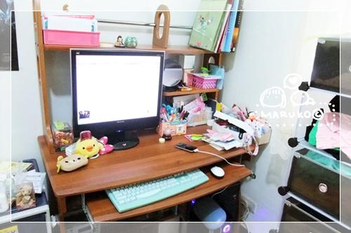 電腦桌後.JPG