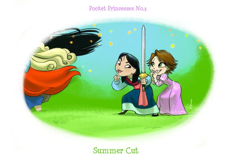 Princess in Dorm—公主的宿舍生活-04-Summer Cut