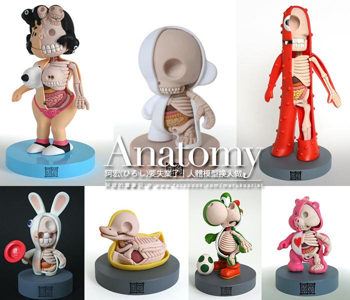 Jason Freeny 解剖學-11