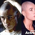 THE BALD-Demi Moore