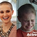 THE BALD-Natalie Portman