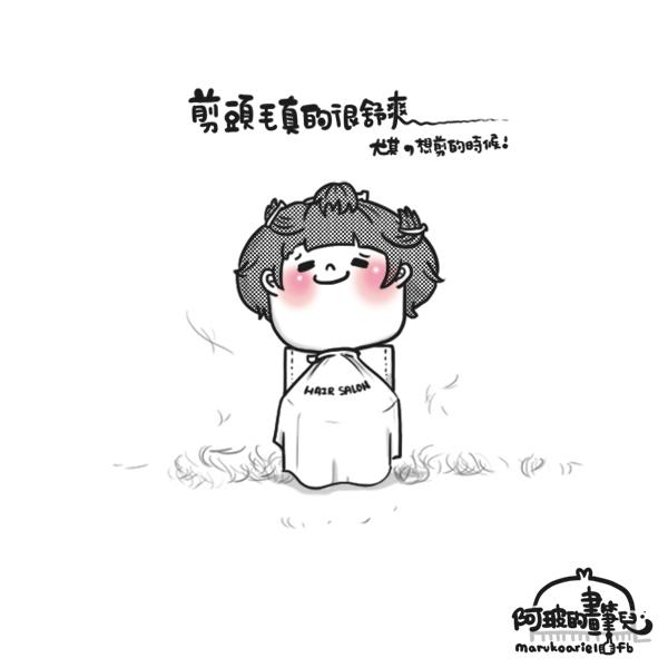0419-舒爽剪頭毛