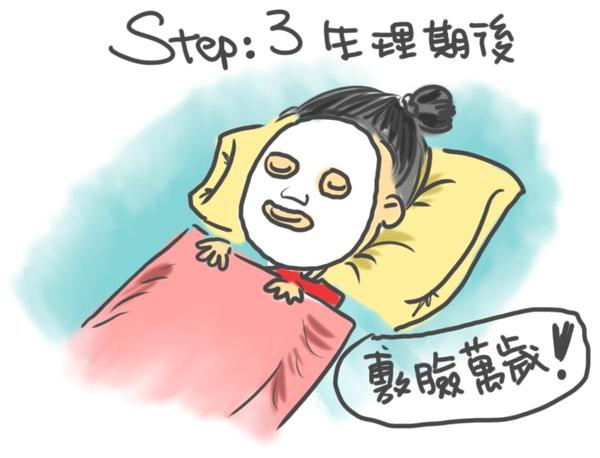 step:3生理期後