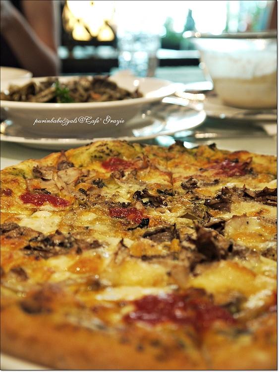 21野菇總匯青醬披薩