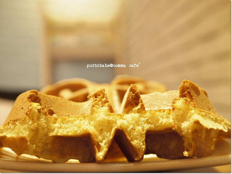 30巧克力鮮奶油鬆餅斷面