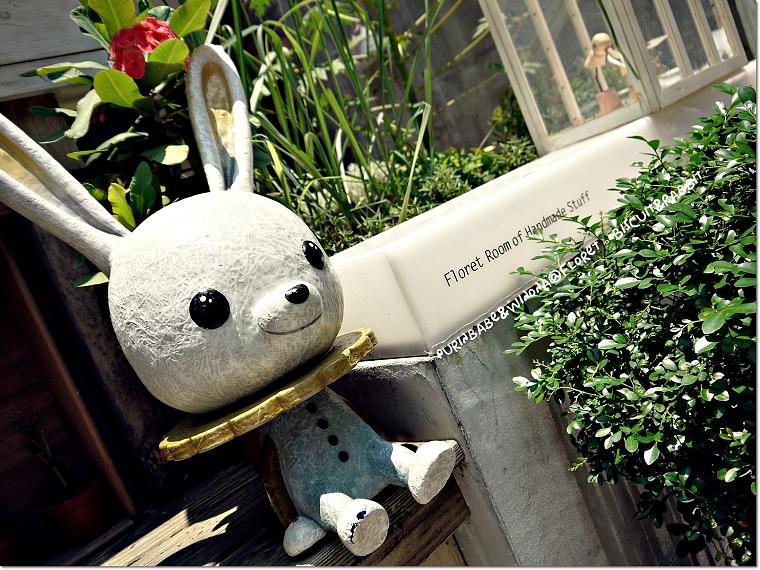 1門口小兔子
