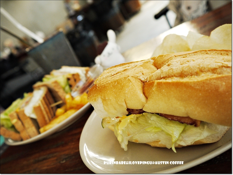 24烤腿排三明治
