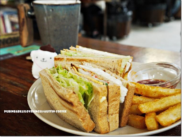 22薯泥沙拉三明治