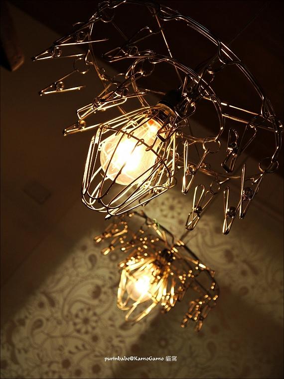23吊衣架燈飾