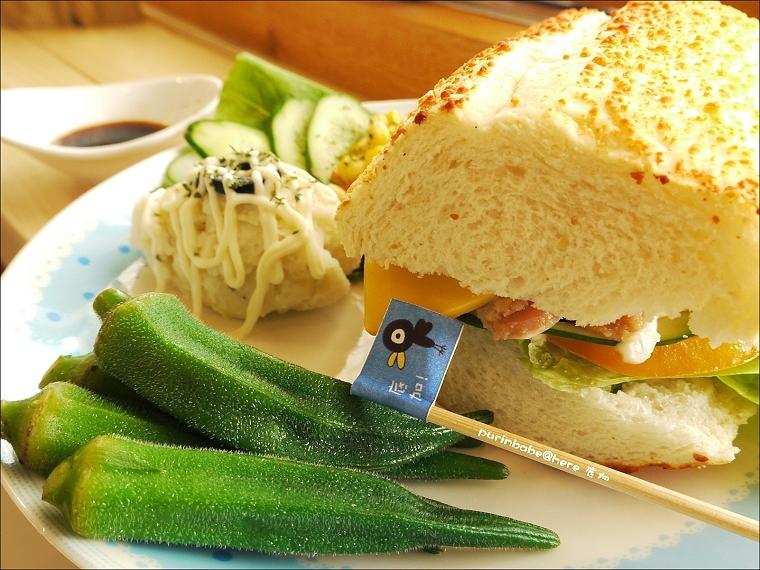 33燻雞青醬乾酪三明治2
