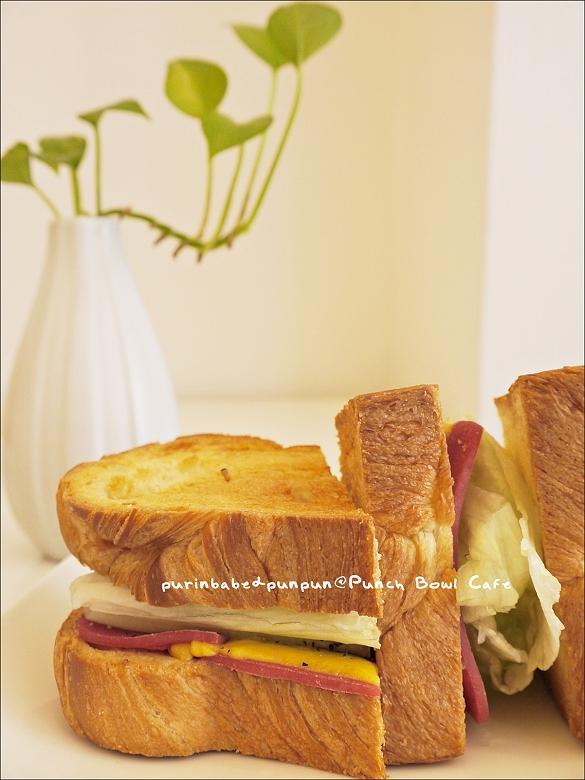 16丹麥起司火腿三明治