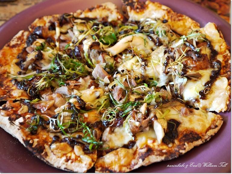 21青蔥醬香烤鴨披薩1