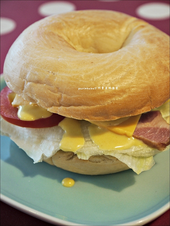 22里肌肉生菜貝果三明治1