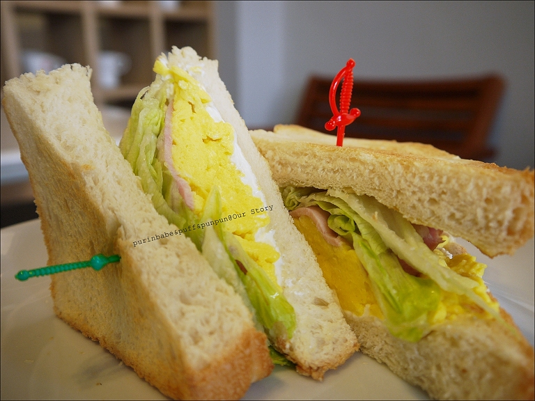 22Our Story特製三明治