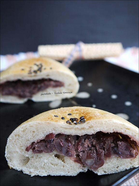 20紅豆酵母麵包