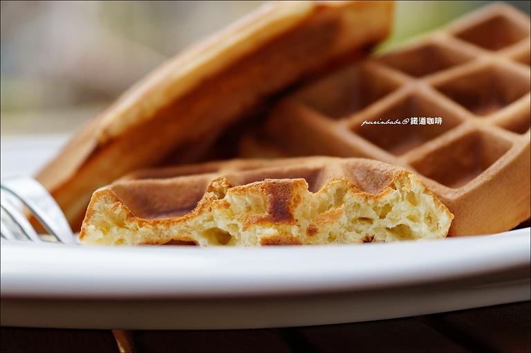 22蜂蜜鬆餅斷面