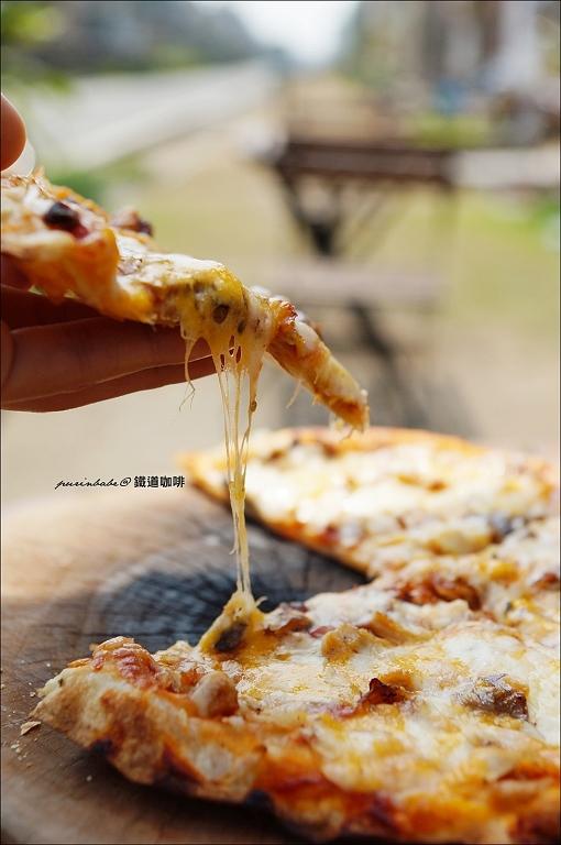 24燻雞披薩2