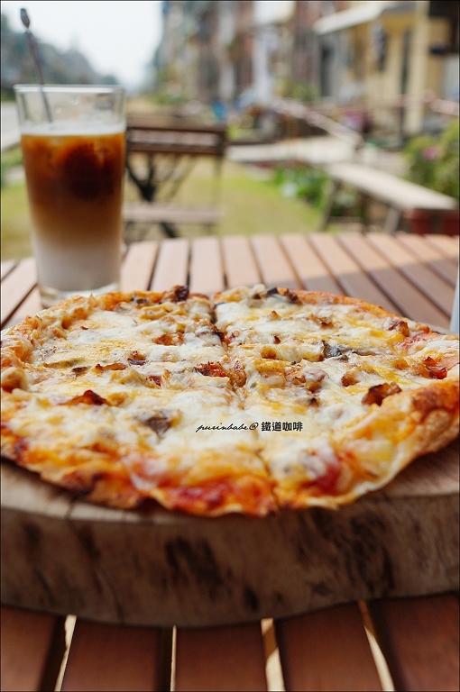 23燻雞披薩1