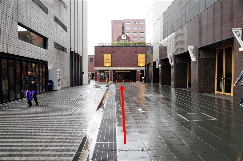 2京都第二鐵塔飯店位置1