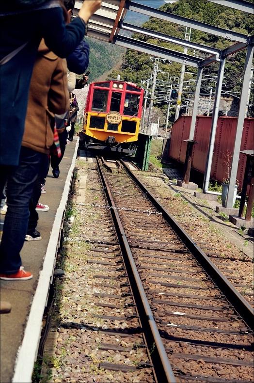 8小火車進站