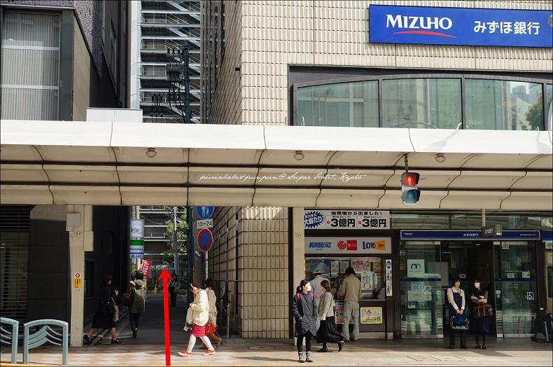 4 MIZUHO銀行旁巷子