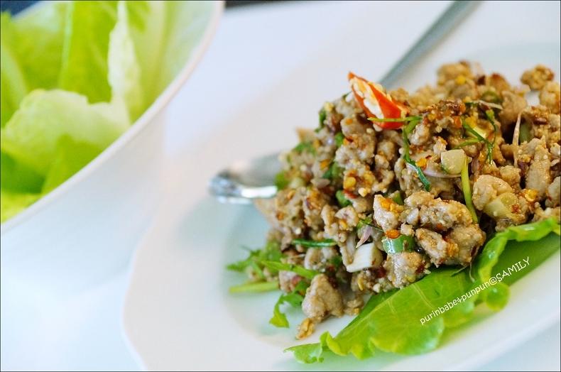 18泰國東北伊山拌豬肉1