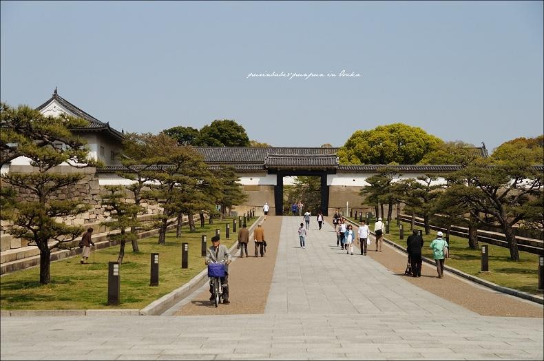 9大阪城大手門