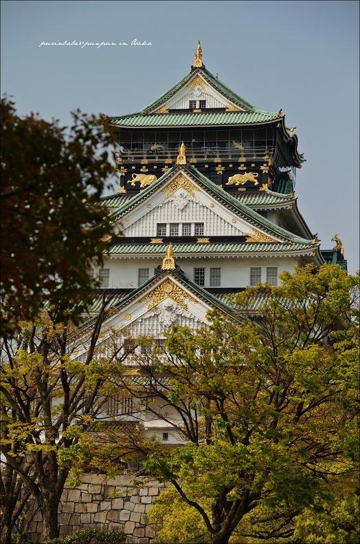 6大阪城天守閣
