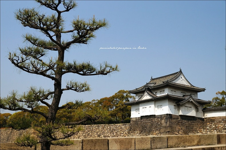 11望向大阪城2