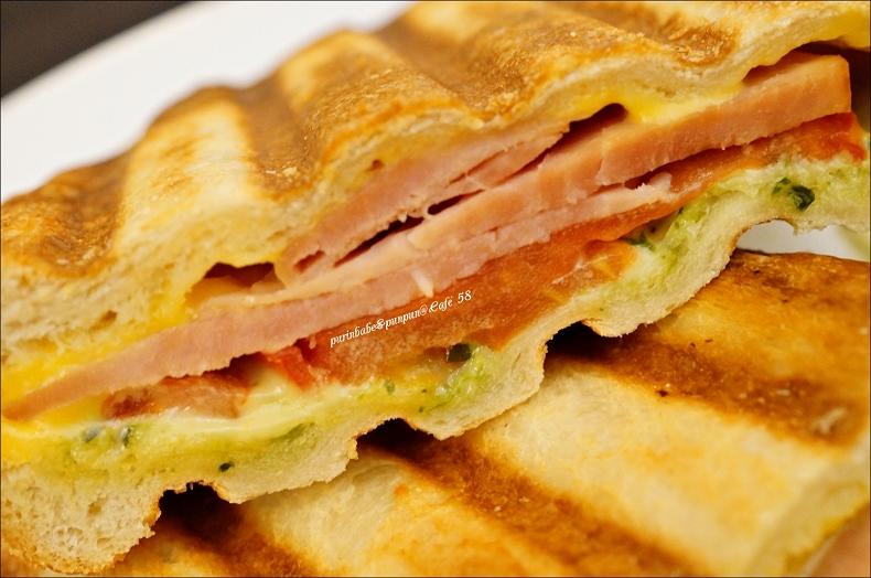 32青醬起司火腿三明治