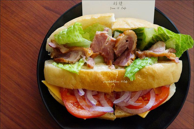 29燻鴨三明治1