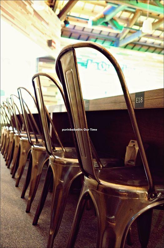 19法國工業鐵椅