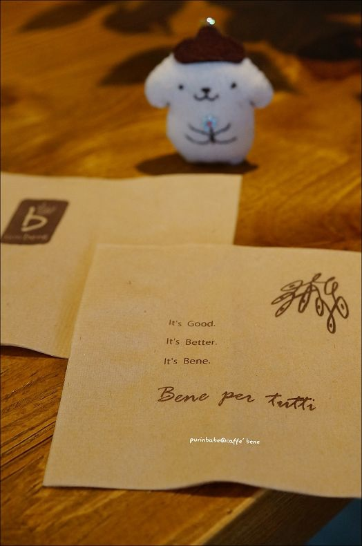 32caffe bene餐巾紙