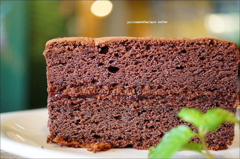 40經典巧克力蛋糕佐覆盆子醬2