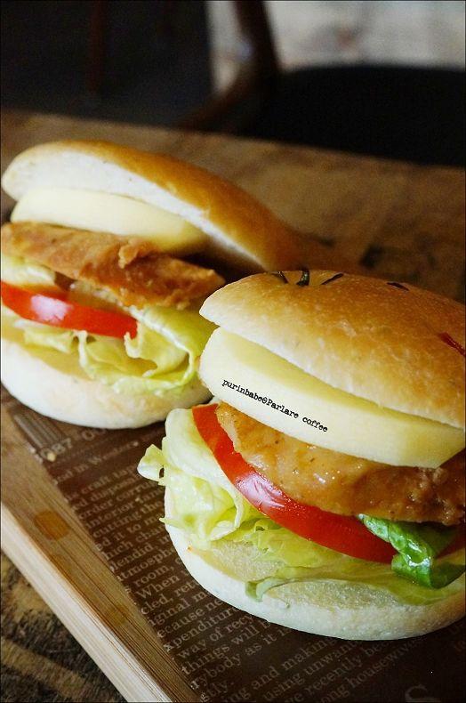 38佛卡夏香草雞三明治2