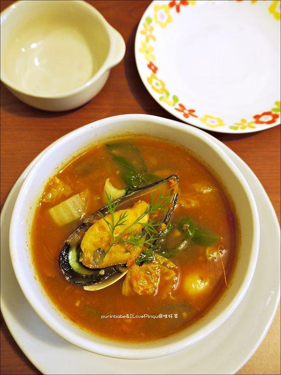 29五告澎湃蕃茄海鮮湯鍋1