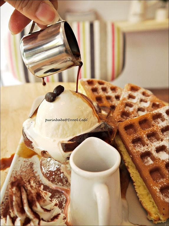 27咖啡豆香草冰淇淋鬆餅4