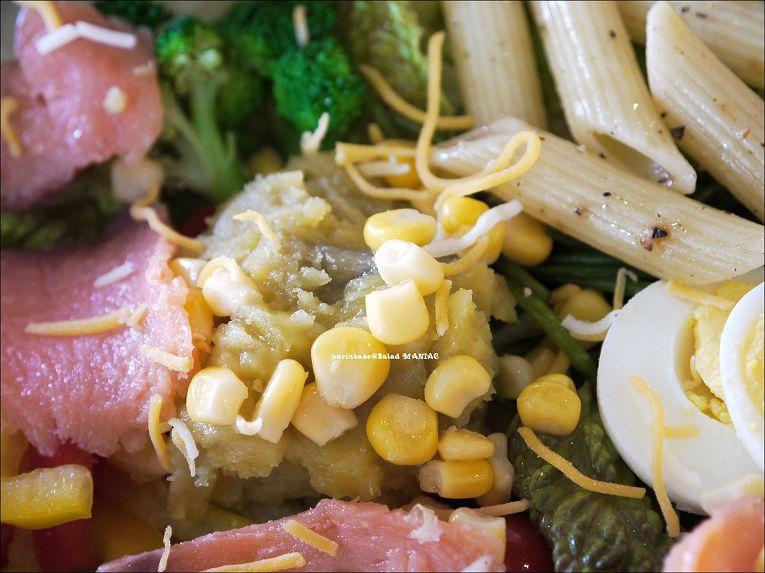 21燻鮭魚田園沙拉3